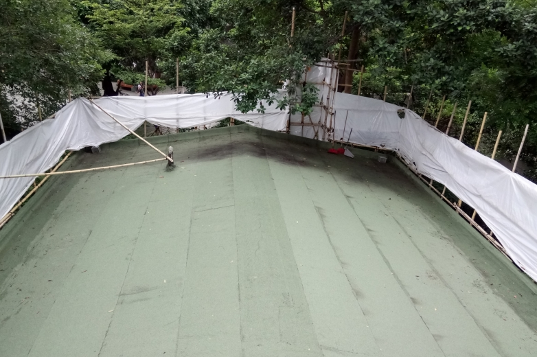 completion of new waterproofing system 2